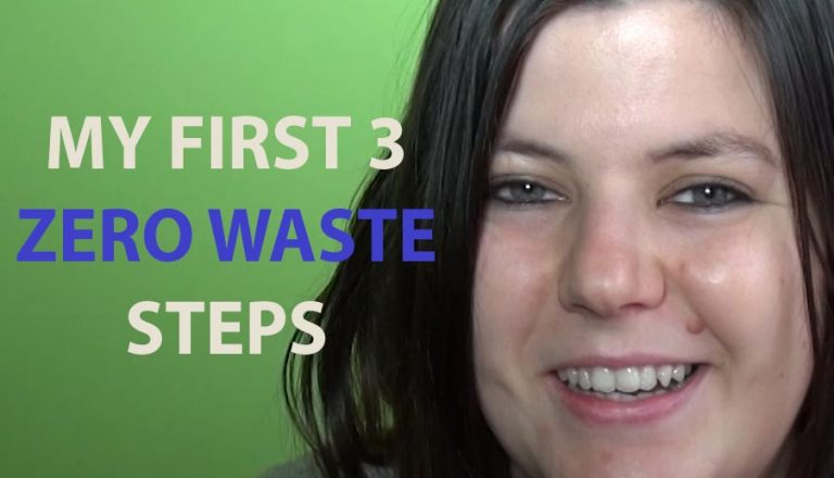 MY FIRST 3 ZERO WASTE TIPS