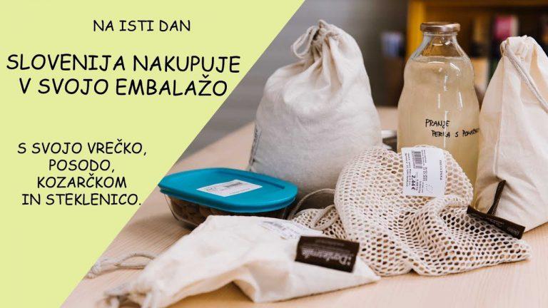 Slovenija nakupuje v svojo embalažo