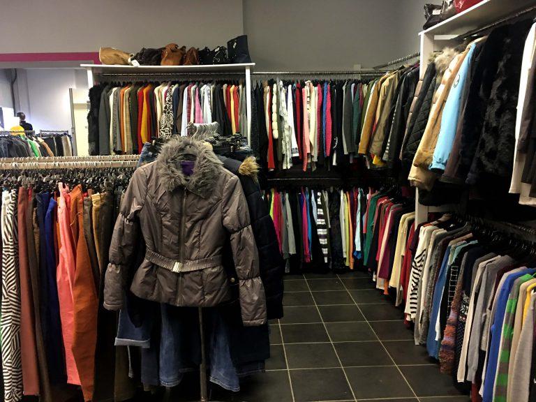 Nova trgovina z rabljenimi oblačili
