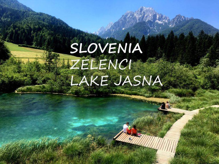 Zelenci, Kranjska gora in jezero Jasna z otroki