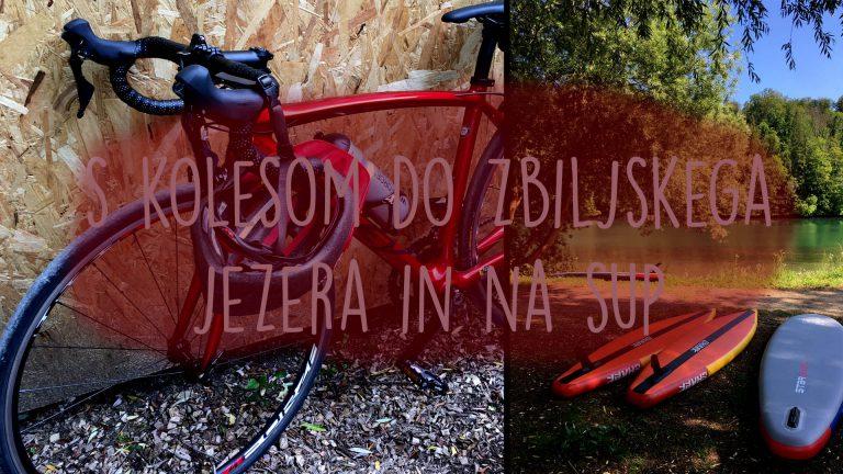 S kolesom do Zbiljskega jezera, na sup in večerjo ali Presenečenje za obletnico